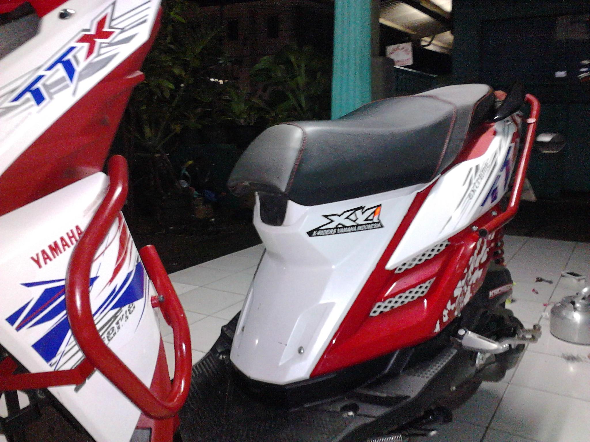 Kumpulan Modifikasi Motor Matic Yamaha X Ride Terbaru Kampong Motor
