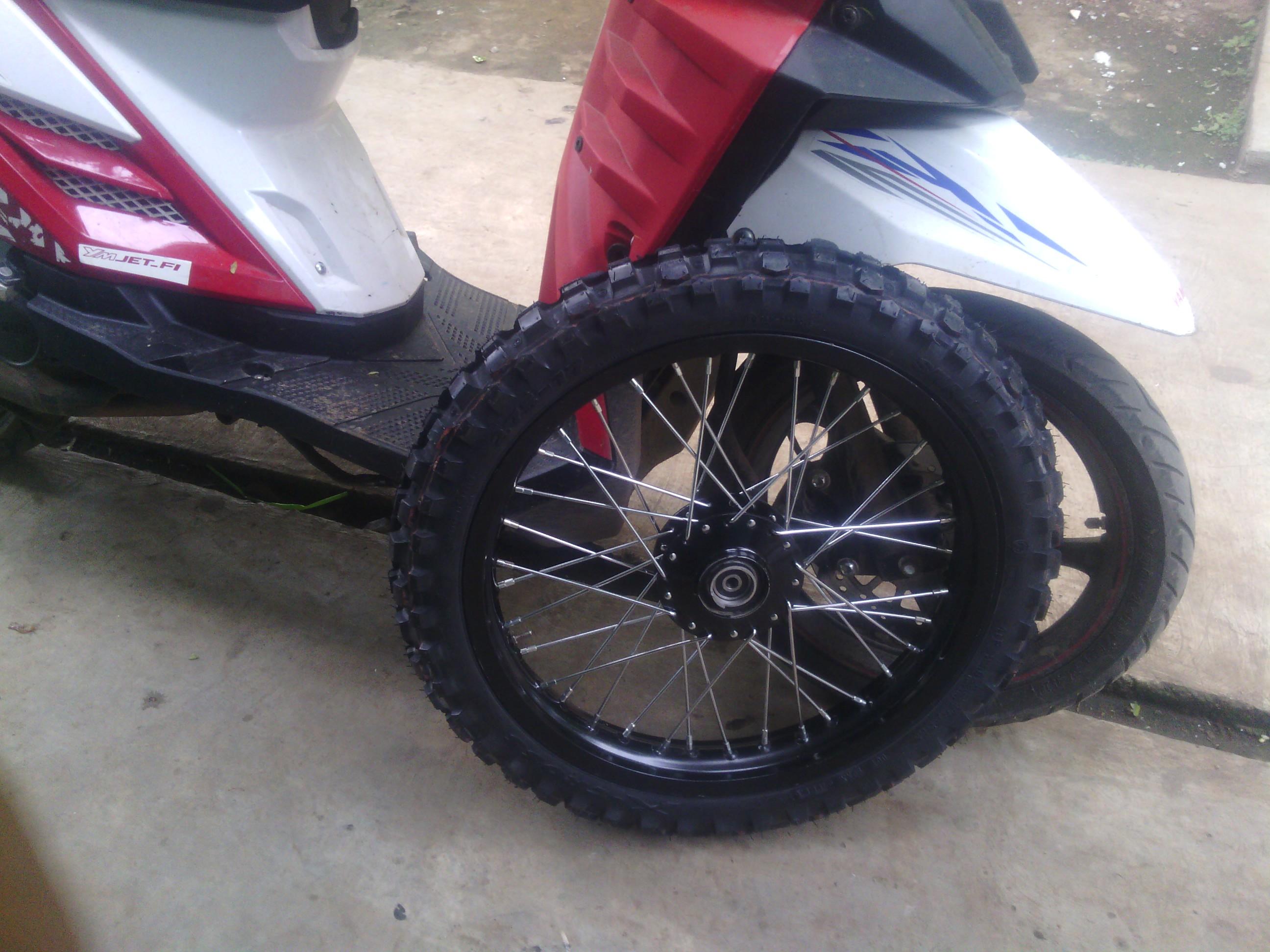 Estimasi Merubah Kaki Kaki Yamaha X Ride Menjadi Cross