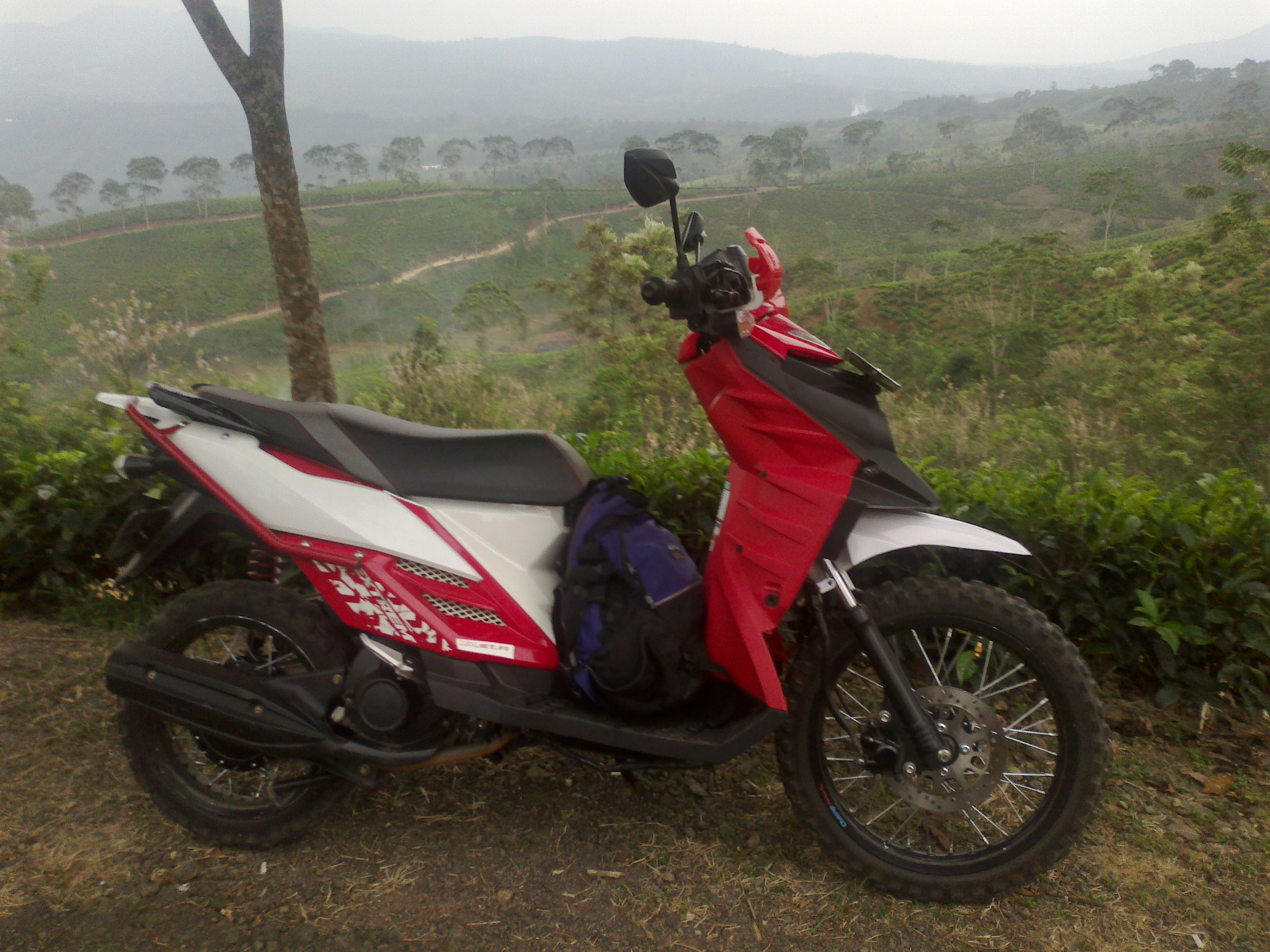 44 Ide Modifikasi Mio Jadi X Ride Terbaik Kurama Motor