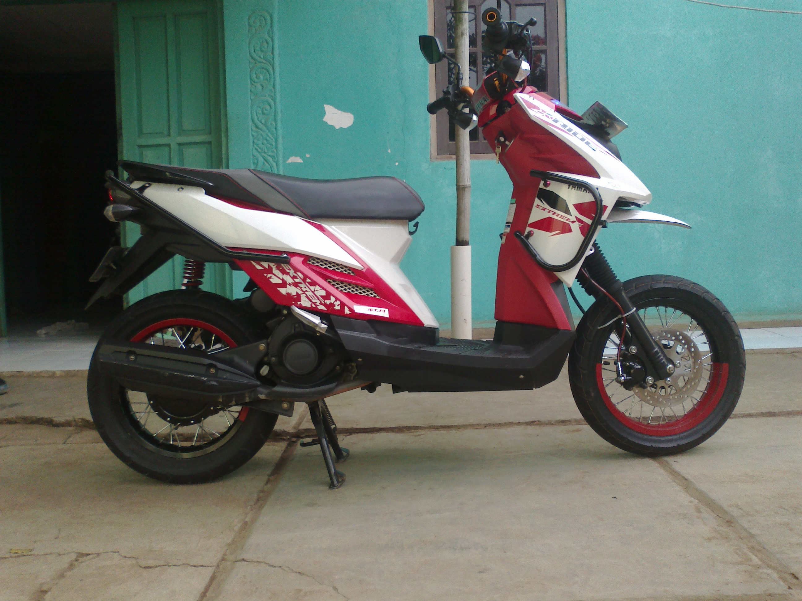 Modif X Ride Jadi Supermoto Viwimotocom