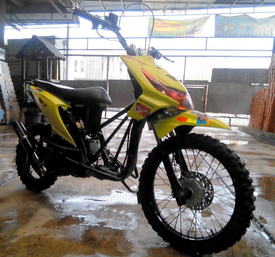 Modifikasi Motor Matic Jadi Trail Kumpulan Modifikasi Motor Scoopy