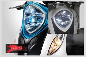 headlamp fino blue core thailand dual